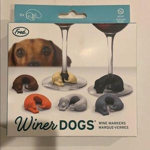 Weenie Dog Wine Markers
